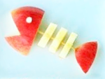 apple-fish-snack